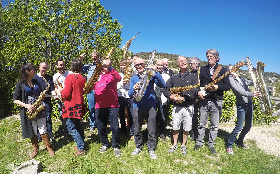 Jazz'Lub Workshop stage jazz 2019 Parc du Luberon