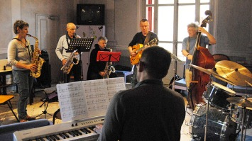 Jazz'Lub WORKSHOP répétition septet