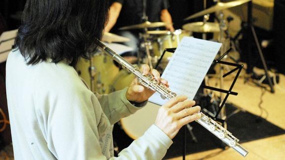 Stage jazz musicienne flûte 2019 Luberon Provence