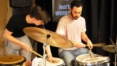 Stage batterie batteur jazz